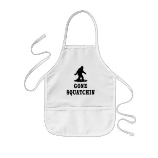 Gone Squatching, Finding Bigfoot, Squatch Kids' Apron