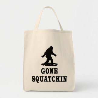 Gone Squatching, Finding Bigfoot, Squatch Tote Bag