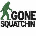 Gone Squatching *large logo* embroidery