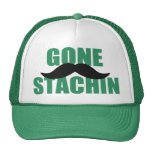 GONE STACHIN - Funny Mustache Hat
