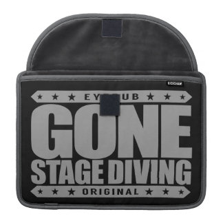 GONE STAGE DIVING - I Love Moshing & Slam Dancing MacBook Pro Sleeve