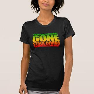 GONE STAGE DIVING - I Love Moshing & Slam Dancing T-Shirt