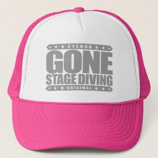 GONE STAGE DIVING - I Love Moshing & Slam Dancing Trucker Hat