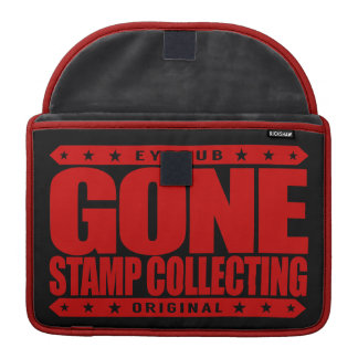 GONE STAMP COLLECTING - Philately & Postal History MacBook Pro Sleeve
