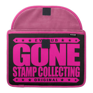 GONE STAMP COLLECTING - Philately & Postal History Sleeves For MacBook Pro