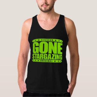 GONE STARGAZING - I Love Stars & Amateur Astronomy American Apparel Fine Jersey Tank Top