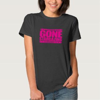 GONE STARGAZING - I Love Stars & Amateur Astronomy T Shirt