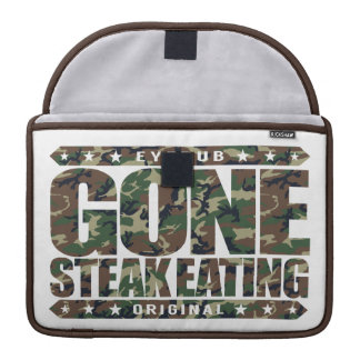 GONE STEAK EATING - I'm Proud & Healthy Meat Eater Sleeve For MacBook Pro