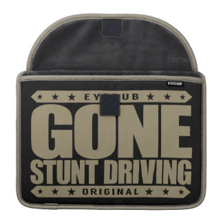 GONE STUNT DRIVING - I'm Perfect Video Game Driver MacBook Pro Sleeve