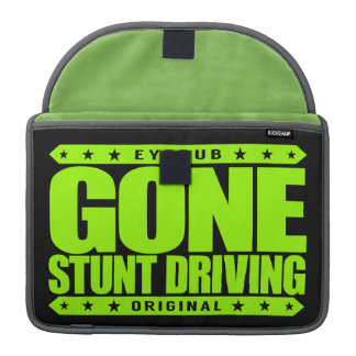 GONE STUNT DRIVING - I'm Perfect Video Game Driver Sleeve For MacBooks