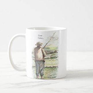 Gone Surf Fishing... Coffee Mug