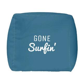 Gone Surfin' Outdoor Pouf