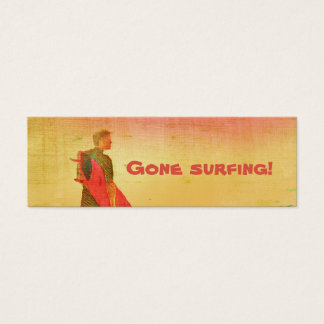 Gone surfing! Business / Contact Card