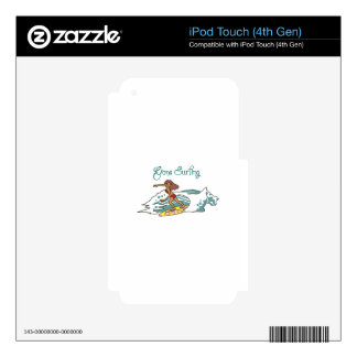 Gone Surfing Decal For iPod Touch 4G