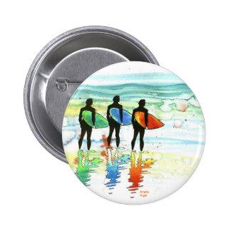Gone Surfing v.1 Pinback Buttons
