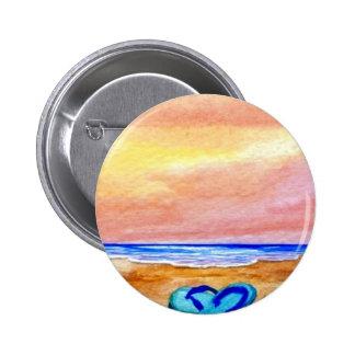 Gone Swimming Beach Baby - CricketDiane Ocean Art Pinback Buttons
