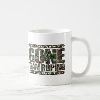 GONE TEAM ROPING - Love Rodeo, Heading And Heeling Coffee Mug