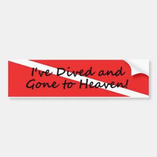Gone to Heaven Bumper Sticker