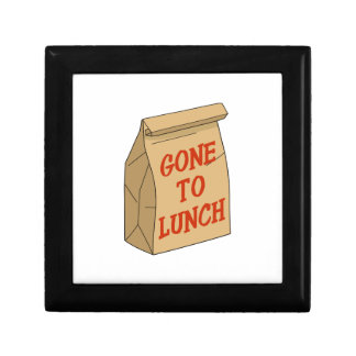 Gone to Lunch Keepsake Box
