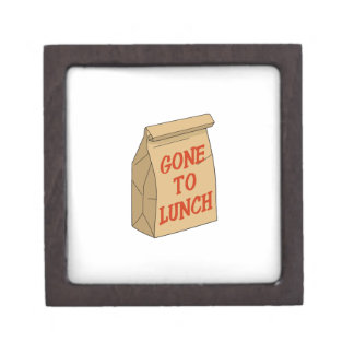 Gone to Lunch Premium Trinket Boxes
