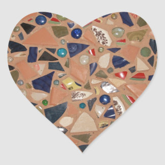 Gone to Pieces! Heart Sticker