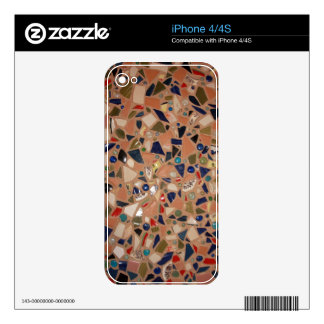 Gone to Pieces! iPhone 4S Skin
