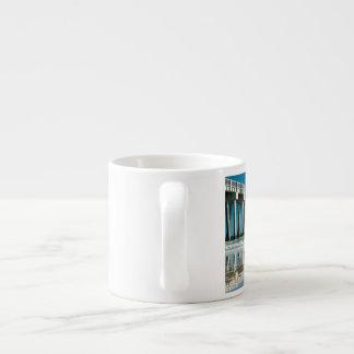 Gone to the beach 6 oz ceramic espresso cup