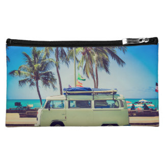 Gone to the beach cosmetic bag