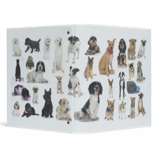 Gone to the Dogs binder