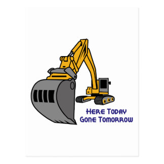 Gone Tomorrow Postcard