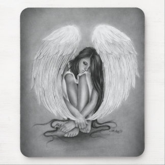 Gone too soon Angel Mousepad
