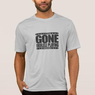 GONE UKULELE PLAYING - Love Hawaiian Music & Songs T-Shirt