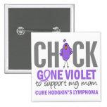 Gone Violet Mom H Lymphoma Buttons