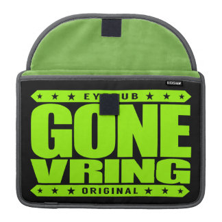 GONE VRING - Computer Simulated Virtual Reality MacBook Pro Sleeve