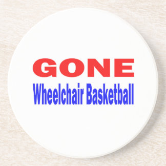Gone Wheelchair basketball. Coasters