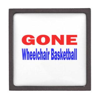 Gone Wheelchair basketball. Premium Gift Box