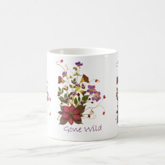 Gone Wild Pressed Flower Mug