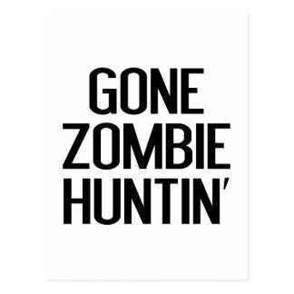 Gone Zombie Huntin' Postcards
