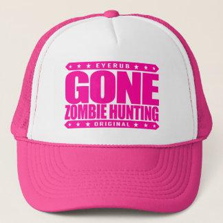 GONE ZOMBIE HUNTING - I'm Post Apocalypse Survivor Trucker Hat