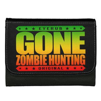 GONE ZOMBIE HUNTING - I'm Post Apocalypse Survivor Wallet For Women