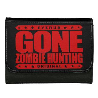 GONE ZOMBIE HUNTING - I'm Post Apocalypse Survivor Wallets For Women