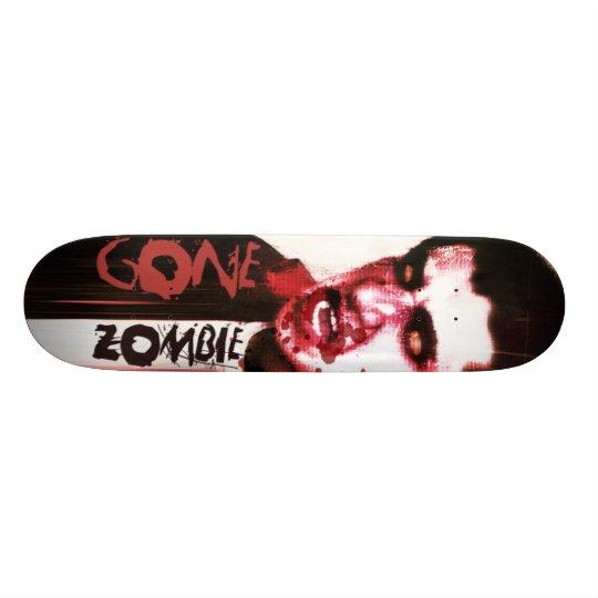 Gone Zombie Skateboard Deck