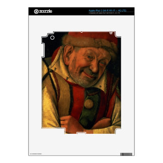 Gonella, the Ferrara court jester, c.1445 iPad 3 Skins