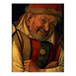 Gonella, the Ferrara court jester, c.1445 Postcard