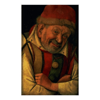 Gonella, the Ferrara court jester, c.1445 Poster