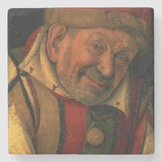 Gonella, the Ferrara court jester, c.1445 Stone Coaster
