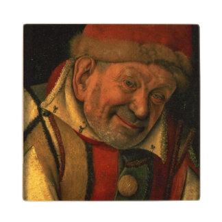 Gonella, the Ferrara court jester, c.1445 Wooden Coaster