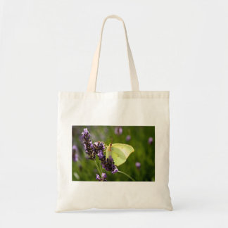 Gonepteryx butterfly budget tote bag