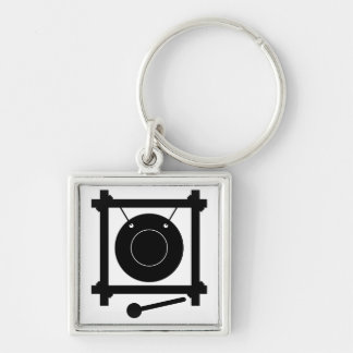 Gong Keychain