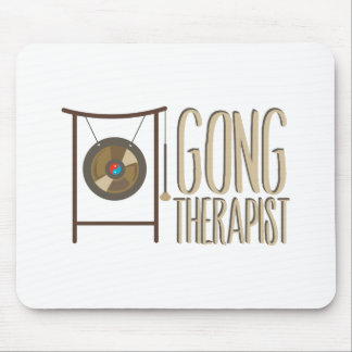 Gong Therapist Mouse Pad